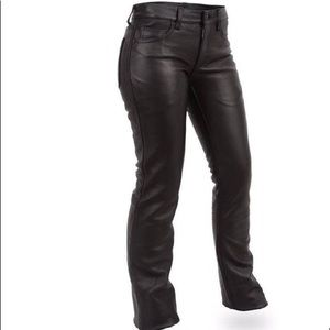 🏍UNISEX Interstate Leather Trousers